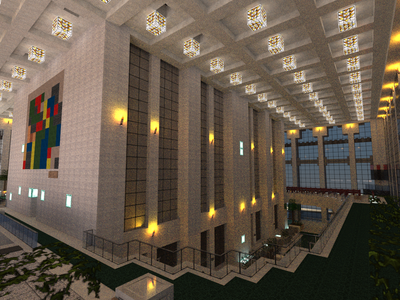 Original World Trade Center Minecraft Project